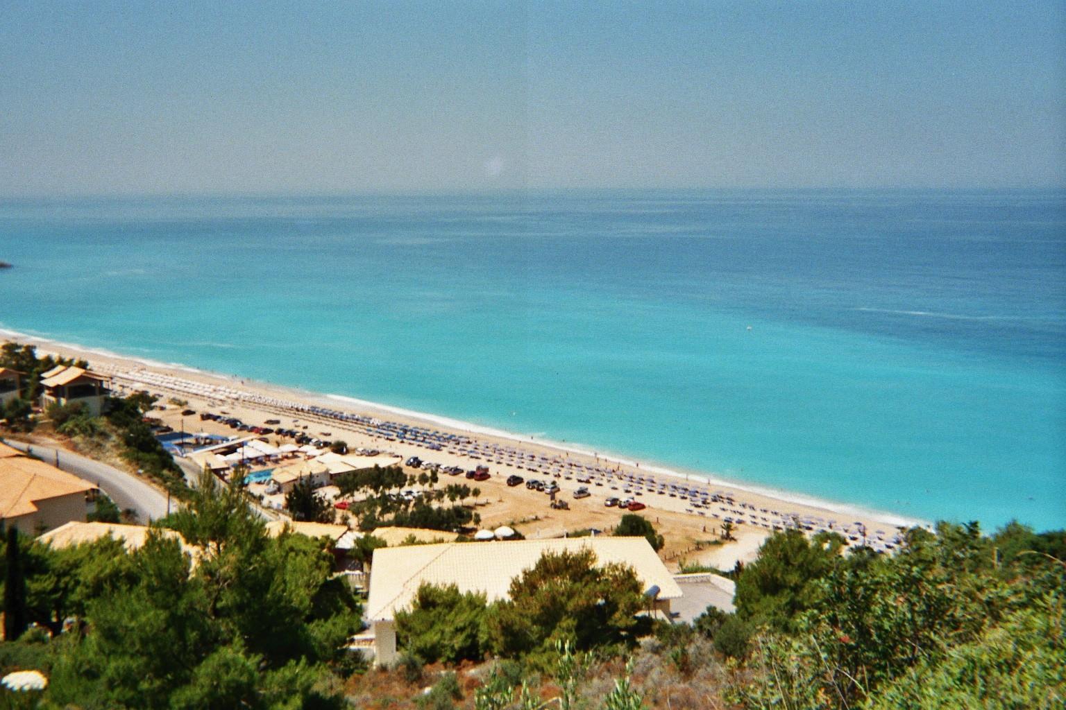 Strand bij Kathisma