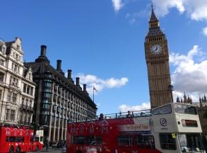 Verschillende vervoersmogelijhkeden in London