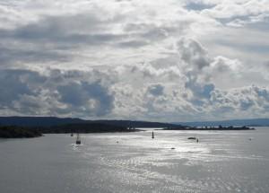 Prachtig uitzicht op de Oslo Fjorden