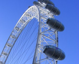 De London Eye met de Cabines
