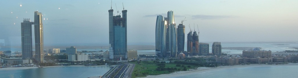 Skyline van Abu Dhabi