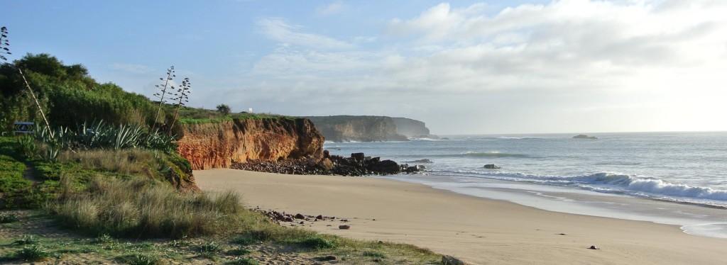 Een van de prachtige stranden van de Algarve (Bij Martinhal Beach Resort & Hotel