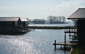 Een eigen aanlegplaats voor je boot maakt het plaatje compleet.