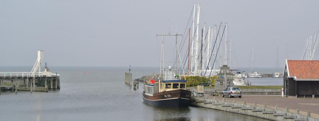 Prachtig zicht op een van de Friese meren