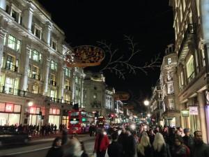Ook 's avonds winkelen in Regent's Street