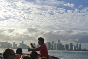 Prachtig uitzicht op South Beach tijdens uitleg Gids.