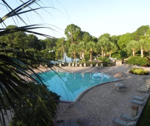 Het zwembad van Clarion Inn Lake Buena Vista