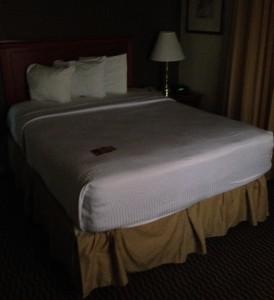 Heerlijke bedden in de slaapkamers