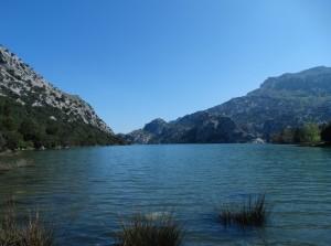 Ses Blau, het meer middenin het Tramuntana gebergte