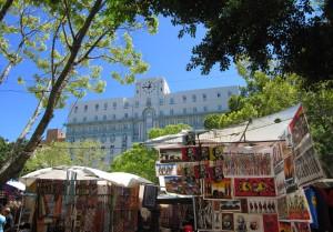 Souvenirs en prachtige gebouwen: Kaapstad