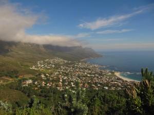 Prachtig uitzicht nabij Kaapstad