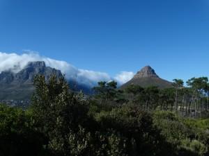 Lions head en de Tafelberg