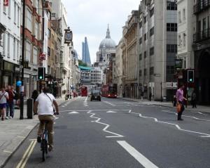 Om Londen te ontdekken, neem de Fiets!