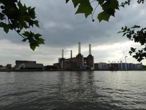 De powerplant van Battersea, vlakbij het gelijknamige park