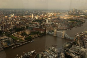 Adembenemend uitzicht over Londen