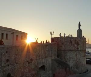 Prachtig Alghero: De muur