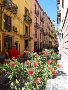 Schilderachtige straatjes in Bosa, het is genieten op Sardinië