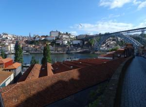 Zicht over de Douro naar het Centrum van Porto!