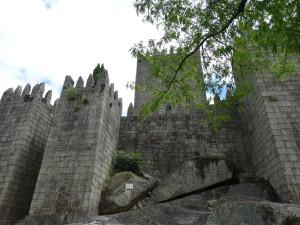Het kasteel van Guimaraes