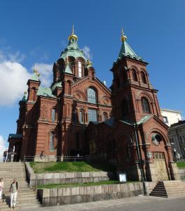 De Uspenski Kathedraal in Helsinki