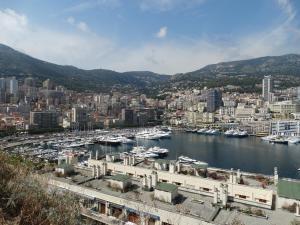 Zicht op Monaco