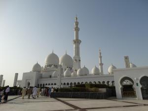 Moskee in Abu Dhabi
