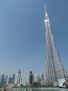 De Burj Khalifa, dan van Beneden!
