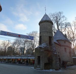 De ingang van de Middeleeuwse stad