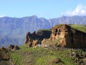 De binnenlanden van Gran Canaria