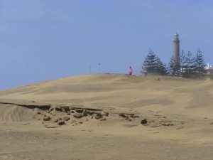 Prachtige duinen in Maspalomas
