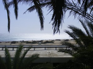 Het strand van Playa