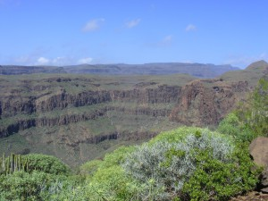 De Grand Canyon van Gran Canaria