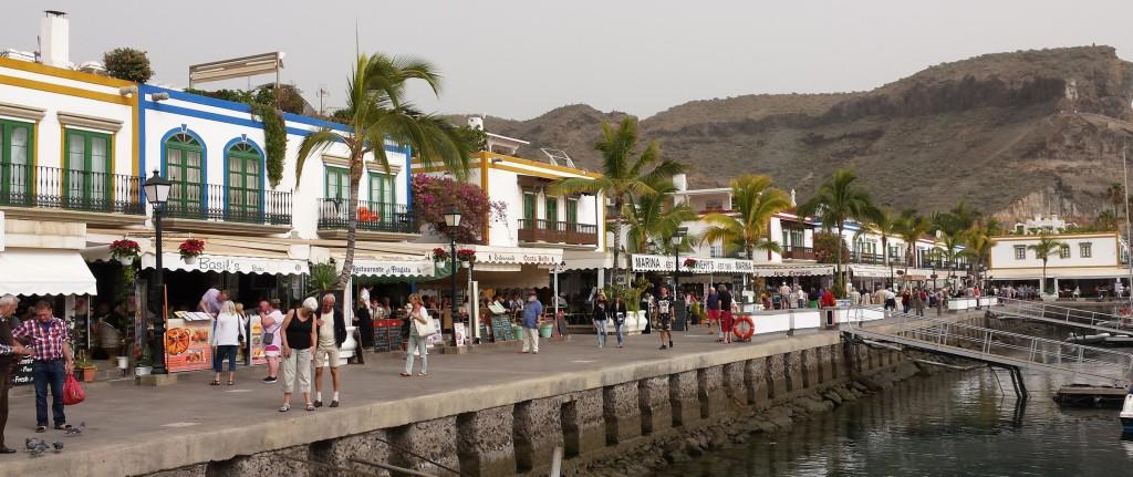 Panorama van Puerto de Mogan
