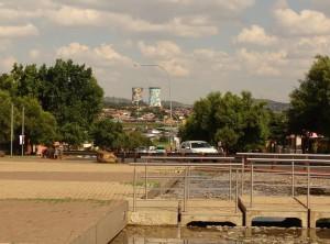 Zich op Johannesburg en Soweto