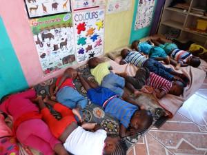 Een kinderdagverblijf in Soweto