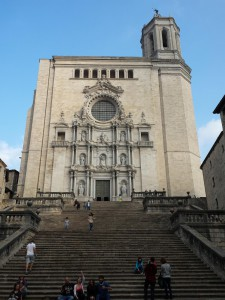 De mooie kathedraal van Girona
