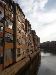 De mooie stad Girona