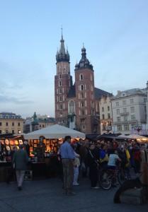 De Mariakerk op het schitterende plein