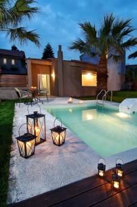 De villa, met privezwembad!