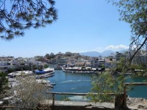 Het binnenmeer van Agios Nikolaos