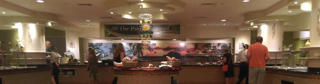 Panorama van een van de restaurants