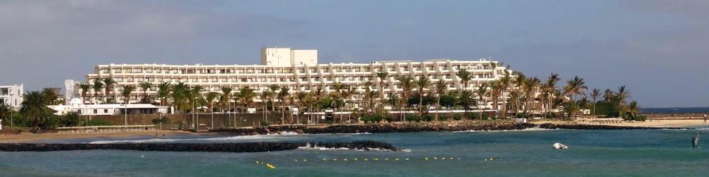 Panorama van het hotel