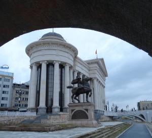 Welkom in Skopje