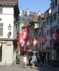 Mooie straatjes in de binnenstad