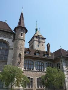Prachtige gebouwen in Zürich
