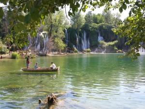 Prachtige watervallen is Bosnië