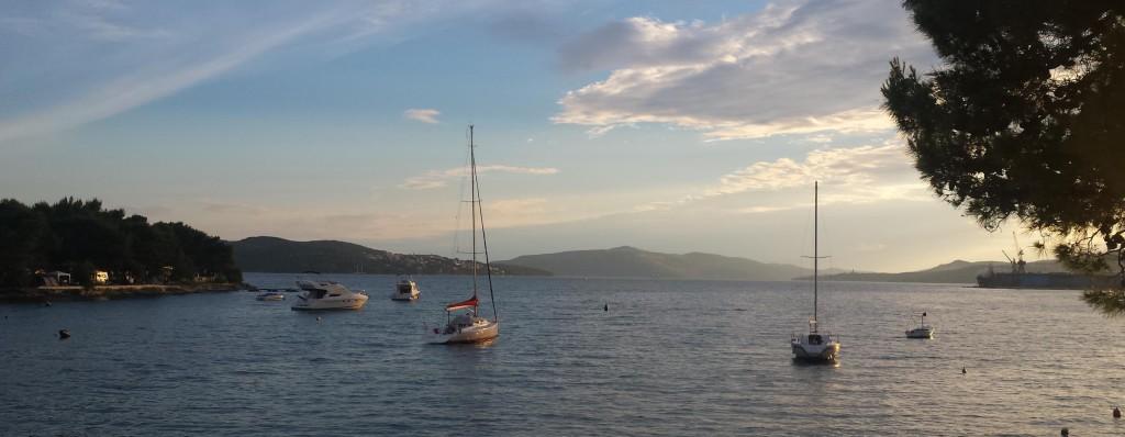 Mooie kust van Kroatië