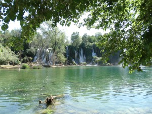 Watervallen van Kravice