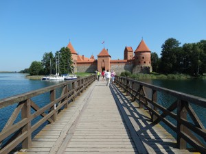 Het kasteel van Trakai