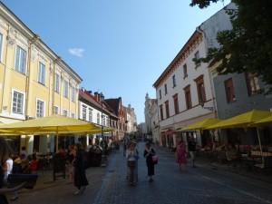 Schitterende straatjes in Vilnius